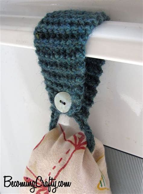 which is easier crochet or knitting stove knitting and towels on