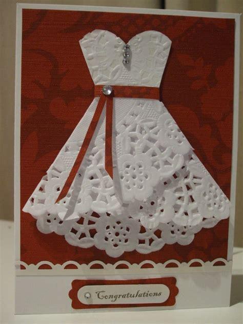 how to make a card dress wedding ideas lisawola unique wedding