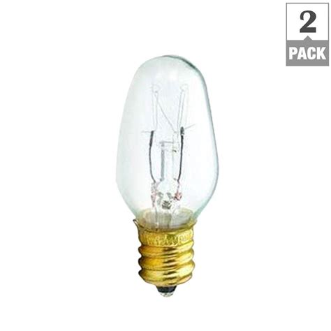 what is a c7 bulb philips 15 watt c7 5 incandescent clear candelabra base