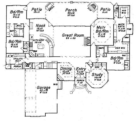 1 story luxury house plans single story luxury house plans smalltowndjs