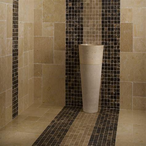 carrelage salle de bain mosaique beige