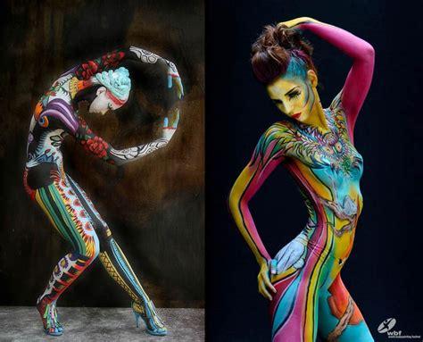 festival mundial de bodypainting en poertschach austria artistas contempor 225 neos de painting pintura y artistas