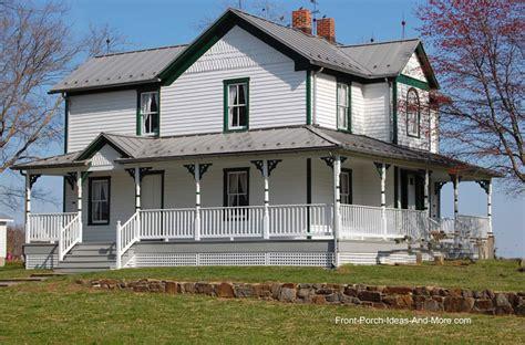 farmhouse wrap around porch farm house porches country porches wrap around porches