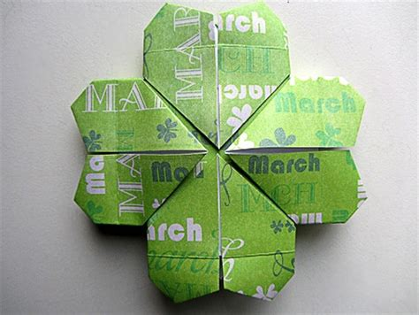 origami four leaf clover origami four leaf clover lucky day