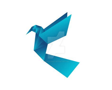 origami bird logo birds origami logo by songolangit on deviantart