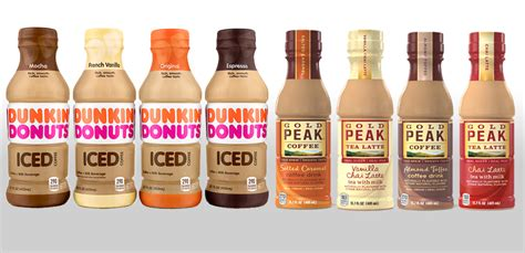 First Look: Dunkin Donuts and Gold Peak RTD coffees and chai teas : ToFizzOrNotToFizz