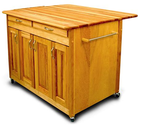 Mobile Kitchen Island Butcher Block kitchen islands with breakfast bars