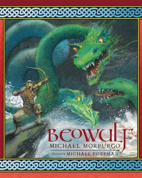 beowulf picture book beowulf by michael morpurgo reviews discussion