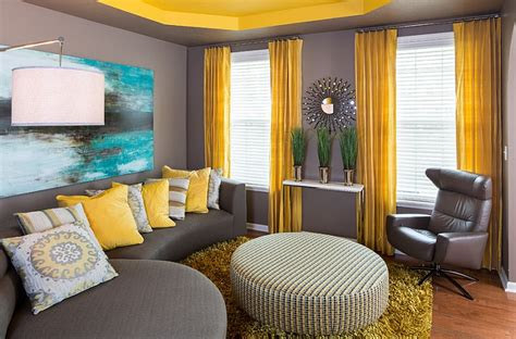Elegant Livingrooms gray and yellow living rooms photos ideas and inspirations