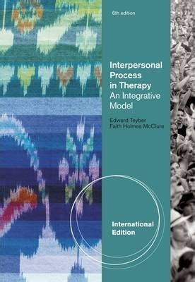 interpersonal process in therapy an integrative model interpersonal process in therapy edward teyber