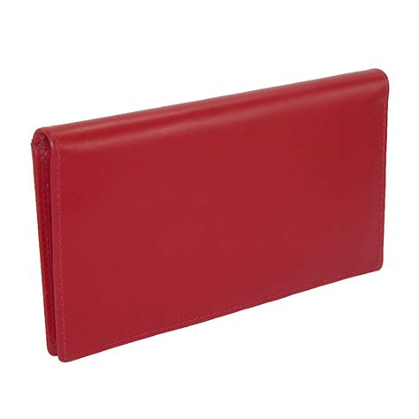 leather checkbook covers for womens leather basic checkbook cover in fashion colors by ctm 174 checkbook covers s