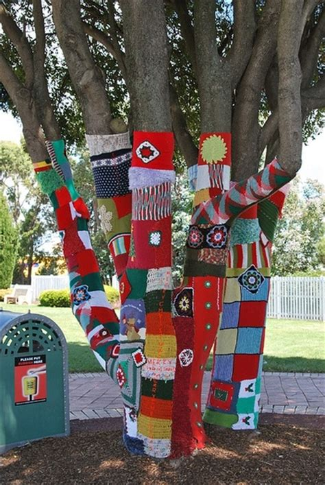 guerilla knitting patterns 17 best images about yarn bombing on yarn