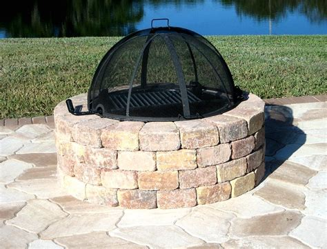 outdoor firepit covers 25 best ideas about pit covers on table
