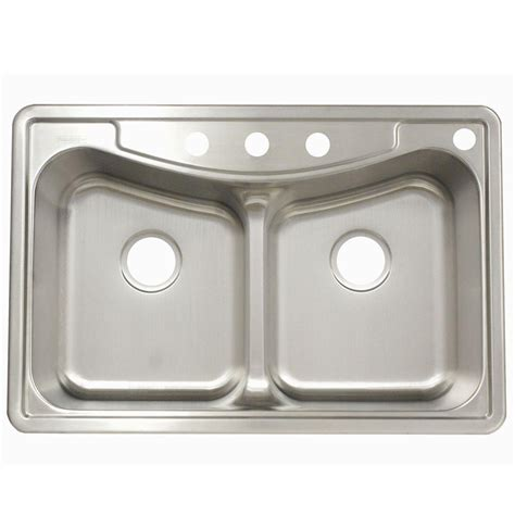franke kitchen sinks stainless steel franke drop in stainless steel 22x33x9 4 basin
