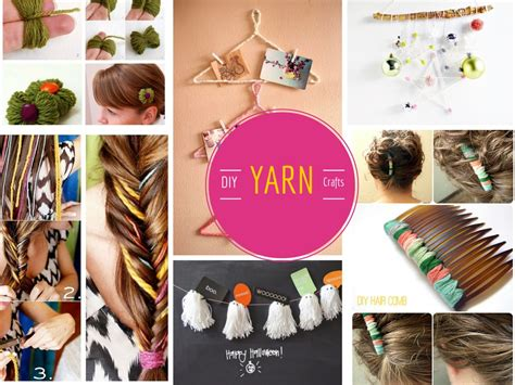 crafts diy projects 12 cool and lovable diy yarn crafts projects part 1