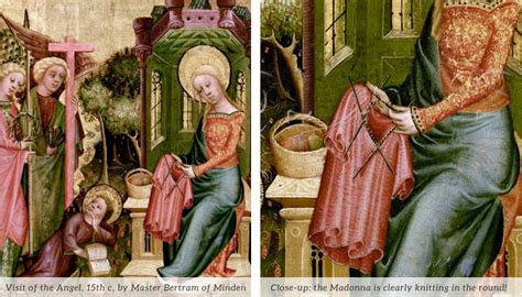 history of knitting the history of knitting pt 2 madonnas and