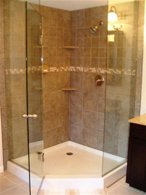 bathroom corner showers 25 best ideas about corner shower doors on
