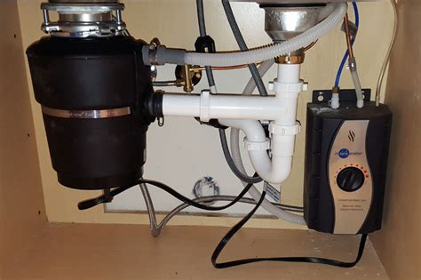 install kitchen sink plumbing install garbage disposal in sink terry
