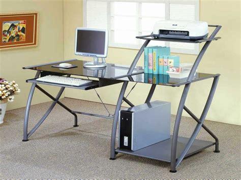 metal and glass computer desks metal computer desk modern metal computer desk metal frame