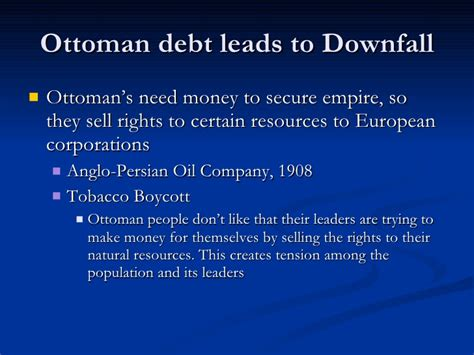downfall of the ottoman empire the decline and fall of the ottoman empire