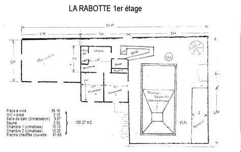 house to sell near poitiers detailed plans