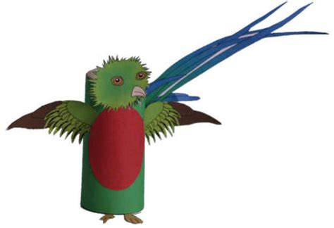 south american crafts for quetzal craft