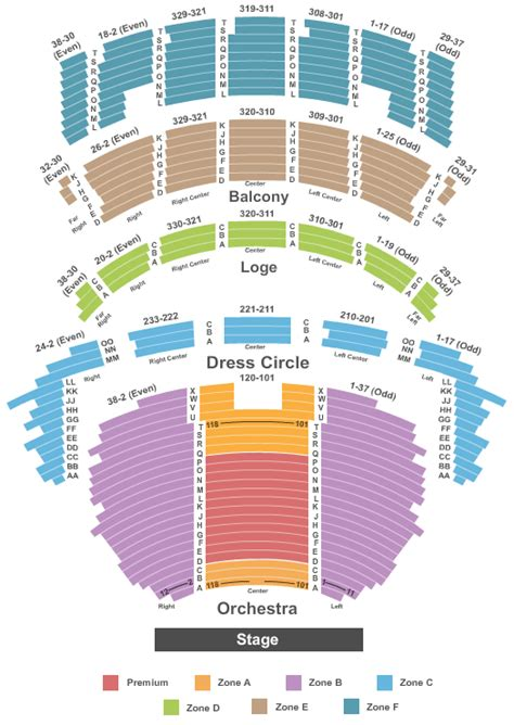 Cadillac Theater Seating cadillac palace theatre seating chart beautiful the