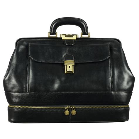 leather doctor bags for black genuine leather doctor bag the master and margarita
