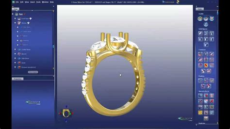jewelry software most powerful tools 3design cad 7 jewelry design