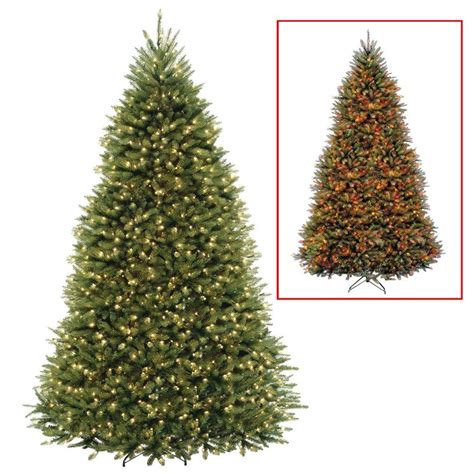 dual color tree national tree company 10 ft dunhill fir artificial