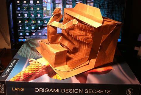 origami design secrets 403 lang s organist setting the crease