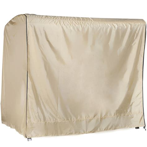 abba patio outdoor veranda 3 triple seater hammock canopy