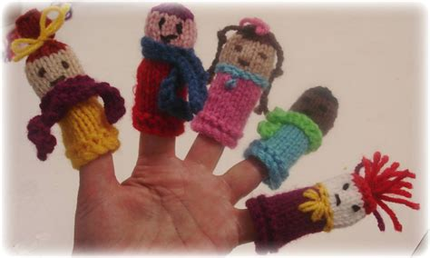 knitted puppets free patterns knitted finger puppets patterns free images