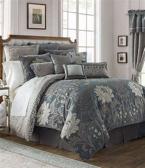 waterford comforter set waterford ansonia floral jacquard comforter set dillards