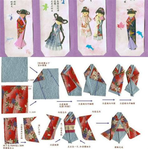 origami paper doll classic japanese paper doll origami diys crafts and