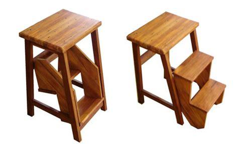 wooden nz flip step stool furniture stools wood bar