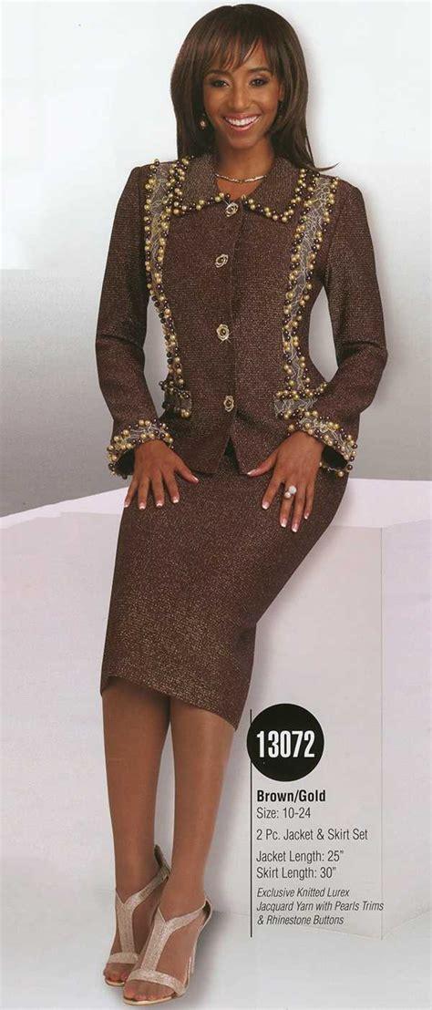 donna vinci knits womens knit church suit by donna vinci 13072