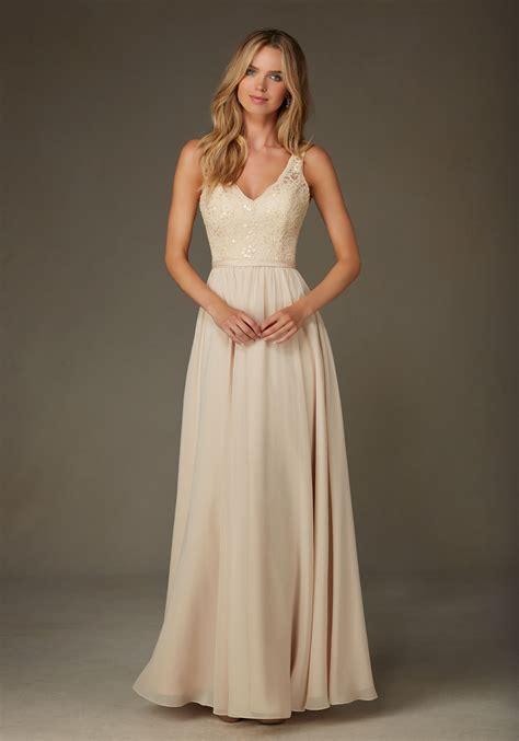 beaded bridesmaid dresses beaded lace with chiffon bridesmaid dress style