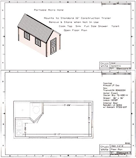 micro home plans walt s micro home plans