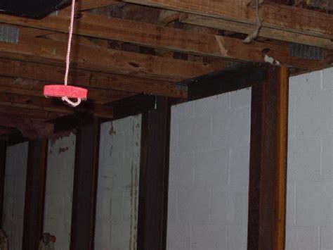 repair basement wall atlanta basement wall repair 770 422 2924 east cobb