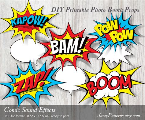 comic book picture effect marvel comic sound effects www pixshark images