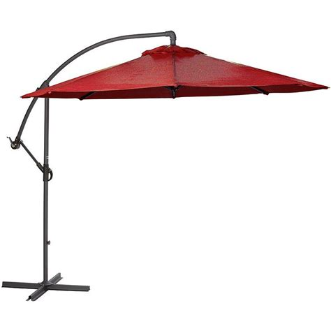 home depot patio umbrellas home decorators collection 8 9 ft cantilever patio