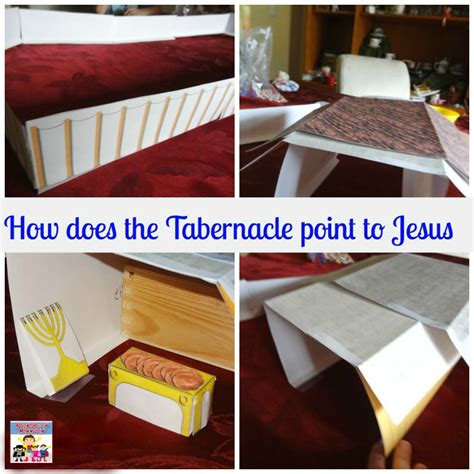 tabernacle craft for tabernacle lesson how does the tabernacle point to