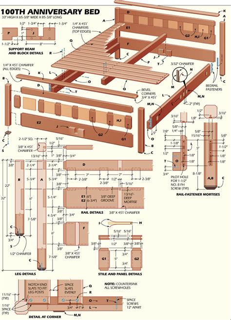 plans woodworking woodworking bed plans bed plans diy blueprints