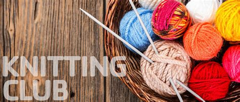 knitting clubs events greater green bay ymca