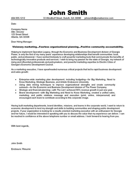 marketing manager cover letter examples cover letter