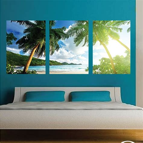 palm tree wall mural decal palm tree wall decals large
