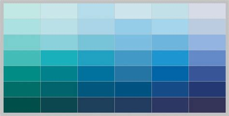 Gorgeous And Simple Blue Paint Colors Placement Home