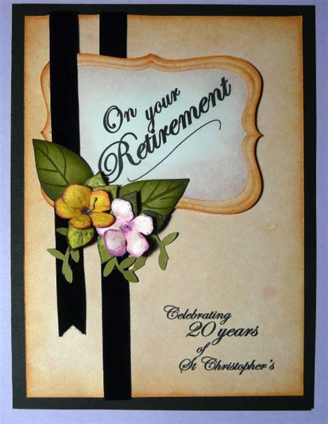 ideas for retirement cards to make 25 best ideas about retirement greetings on