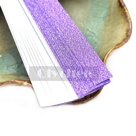 shiny origami paper 20x glitter bling shiny origami paper lucky wish